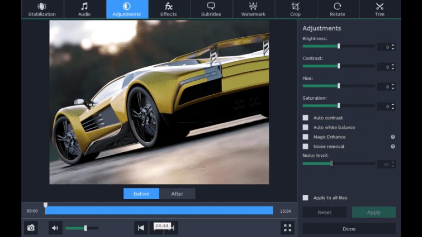 Movavi Video Converter for Mac - review, screenshots