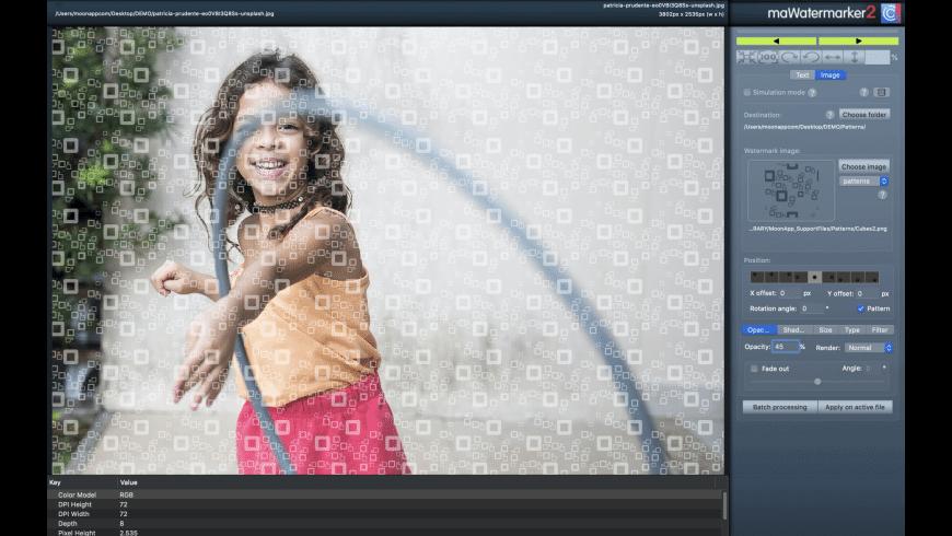maWatermarker for Mac - review, screenshots