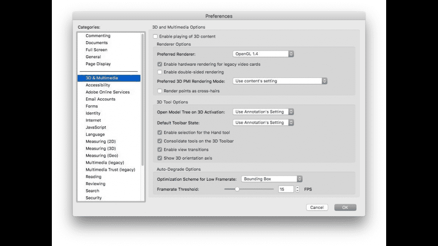 Adobe Acrobat Reader for Mac - review, screenshots