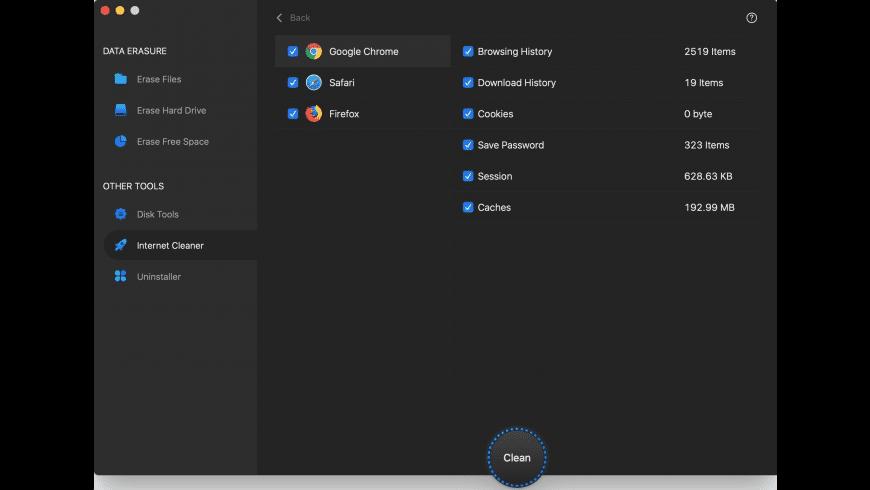 AweEraser for Mac - review, screenshots