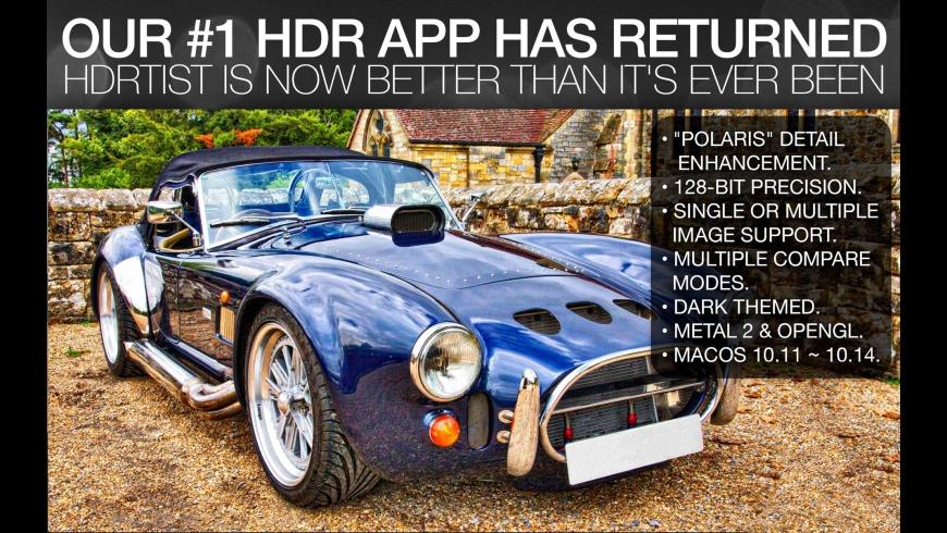 HDRtist for Mac - review, screenshots