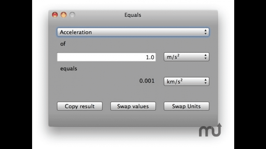 Equals for Mac - review, screenshots