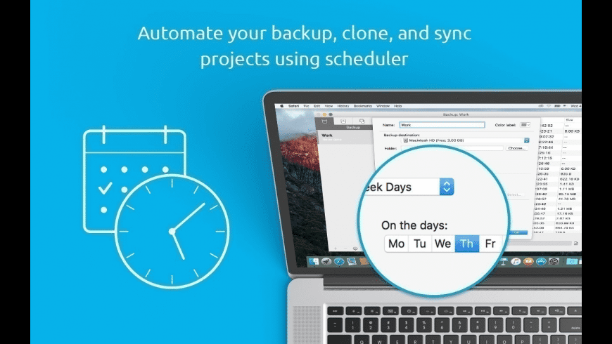 Get Backup Pro for Mac - review, screenshots