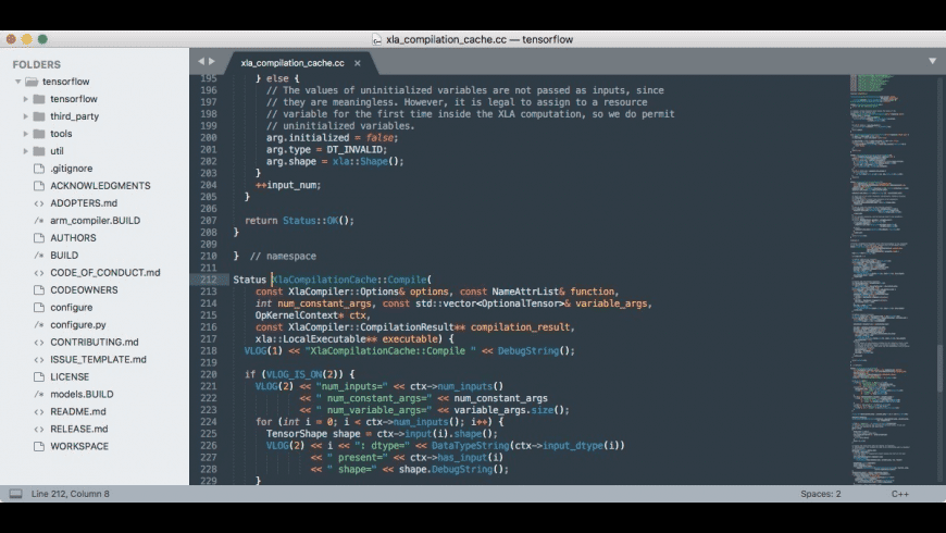 Sublime Text for Mac - review, screenshots