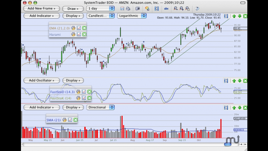 SystemTrader for Mac - review, screenshots