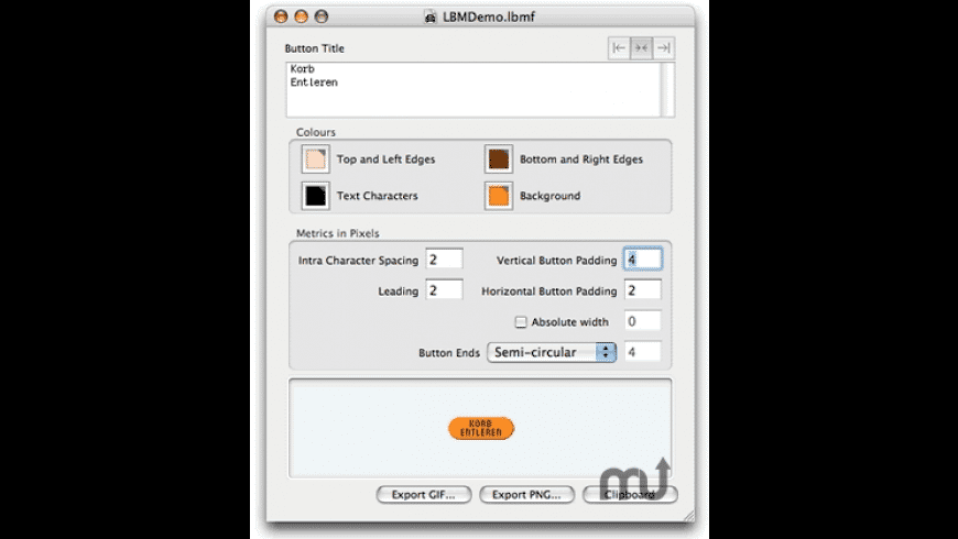 LittleButtonMaker for Mac - review, screenshots