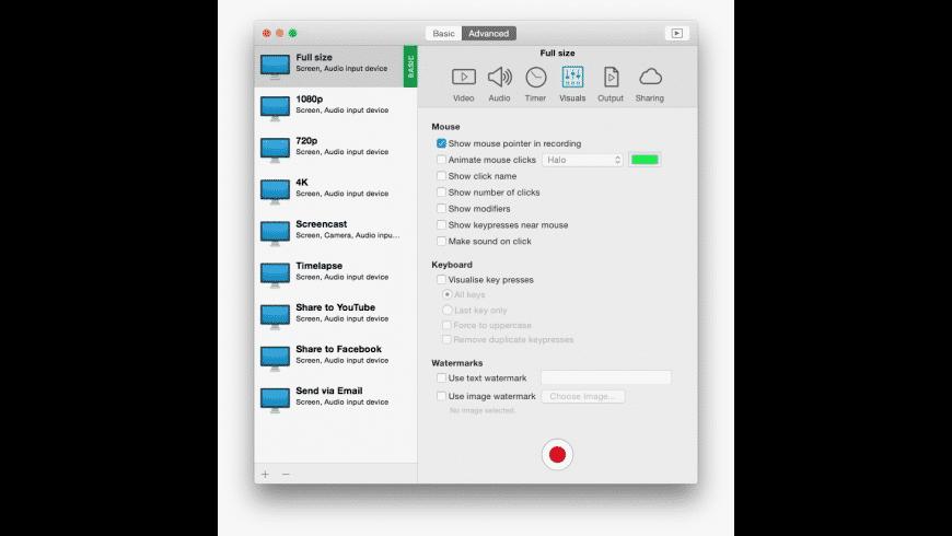 iShowU Instant for Mac - review, screenshots