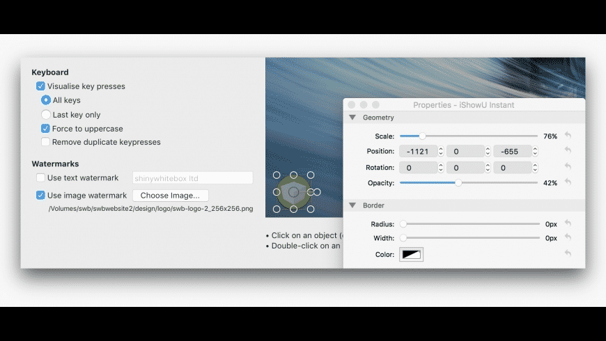 iShowU Instant for Mac - review, screenshots