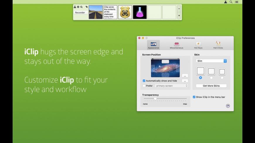 iClip for Mac - review, screenshots