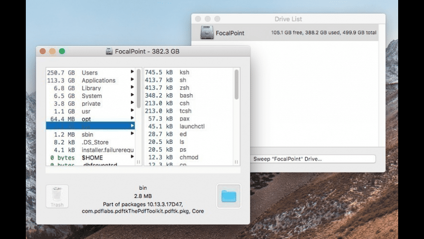 OmniDiskSweeper for Mac - review, screenshots