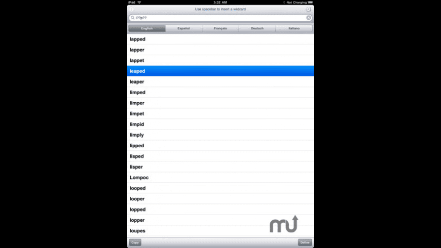 XWord Aide - Multilingual Crossword Puzzle Solver for Mac - review, screenshots