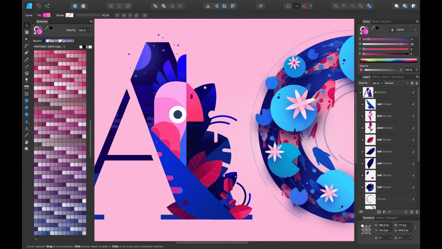 Affinity Designer for Mac - review, screenshots