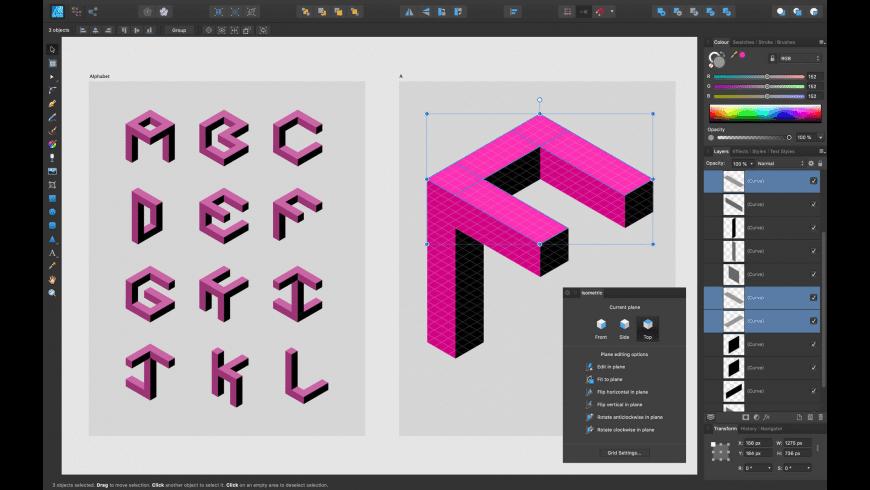 Affinity Designer for Mac - review, screenshots