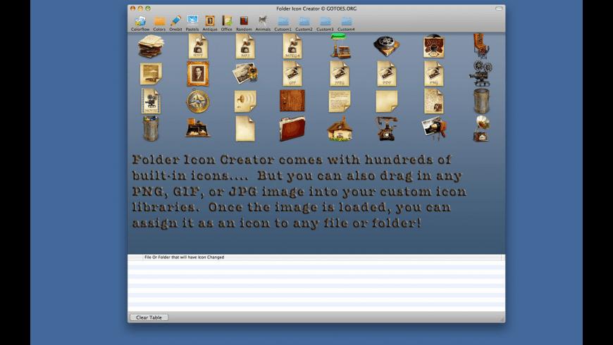 Folder Icon Changer for Mac - review, screenshots