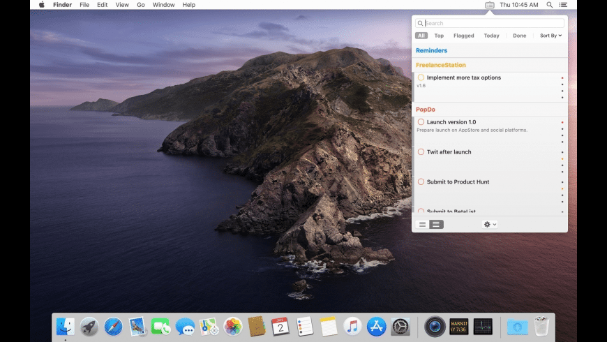 PopDo for Mac - review, screenshots
