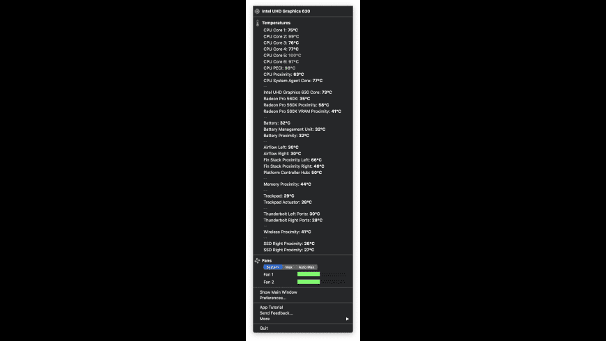 TG Pro for Mac - review, screenshots