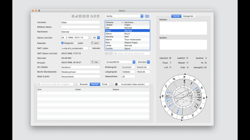 Kairon for Mac - review, screenshots