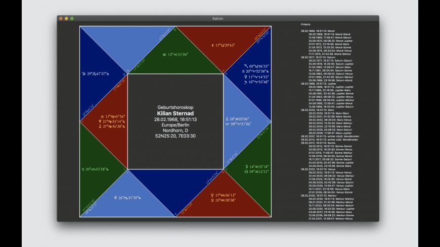 Kairon for Mac - review, screenshots