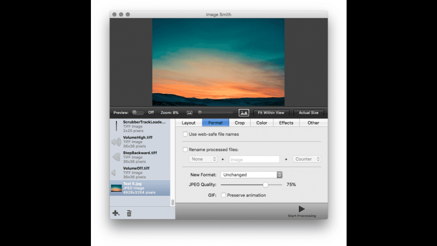 Image Smith for Mac - review, screenshots