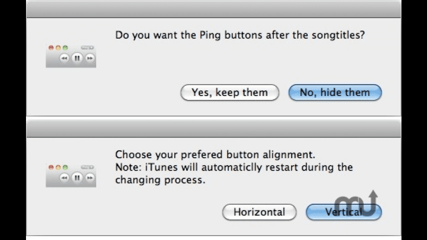 iTunes Button Changer for Mac - review, screenshots