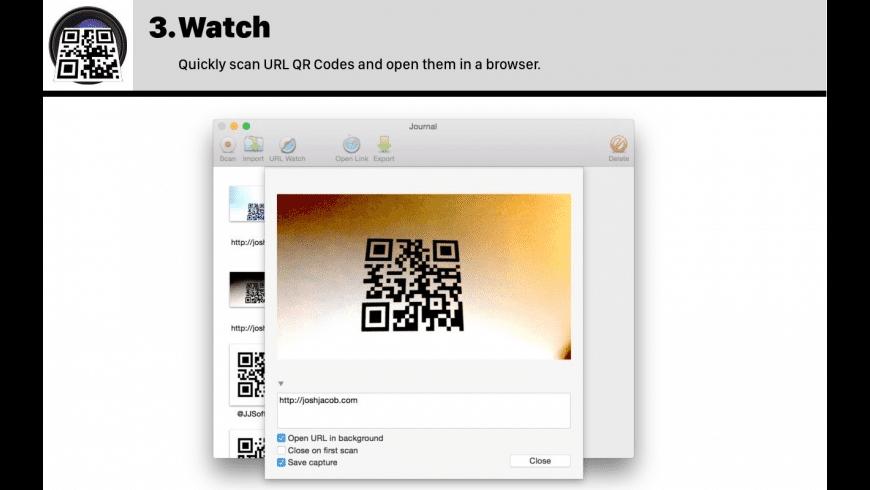 QR Journal for Mac - review, screenshots