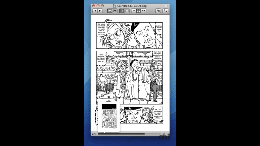Simple Comic for Mac - review, screenshots