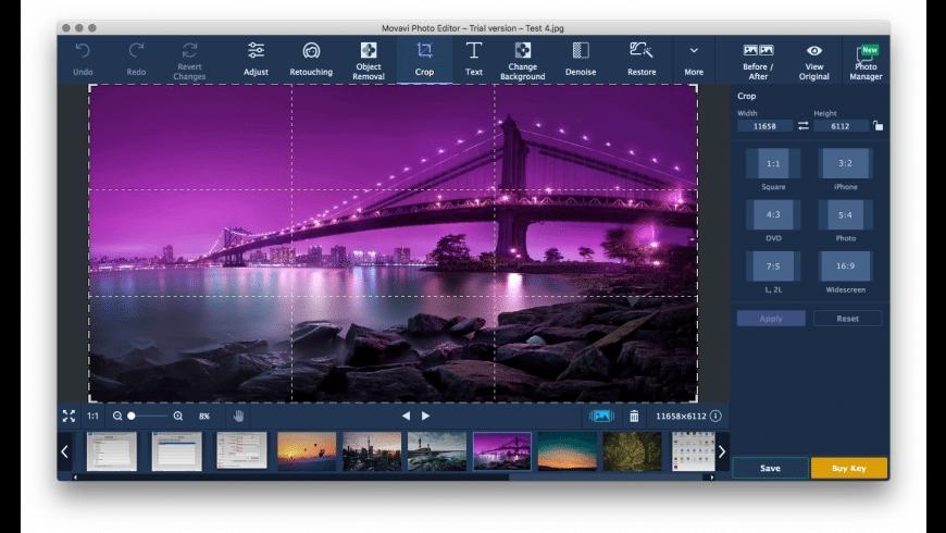 Movavi Photo Editor for Mac - review, screenshots