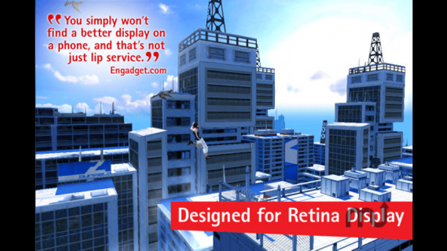 Mirror's Edge for Mac - review, screenshots