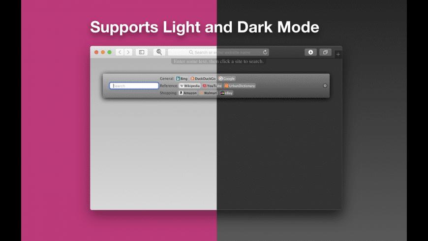 CustomSearch Safari Extension for Mac - review, screenshots