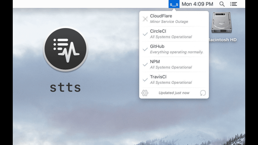stts for Mac - review, screenshots