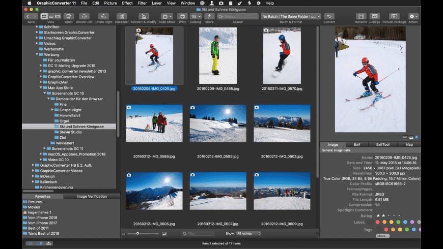 GraphicConverter for Mac - review, screenshots