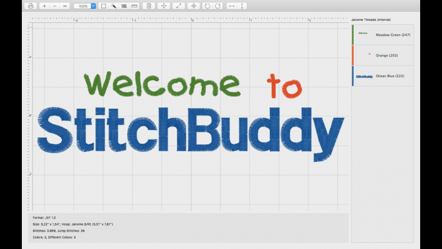 Stitchbuddy For Mac Free Download Review Latest Version