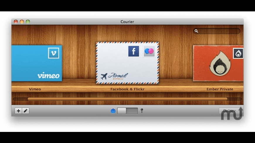 Courier for Mac - review, screenshots