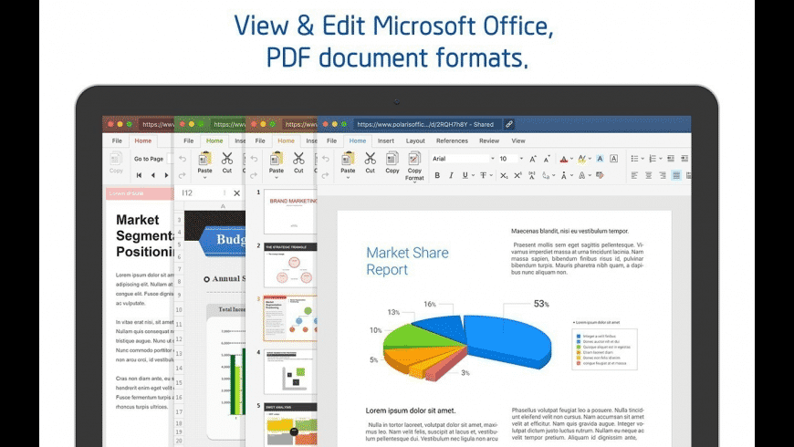 Polaris Office for Mac - review, screenshots