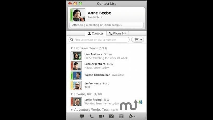 Microsoft Lync for Mac - review, screenshots