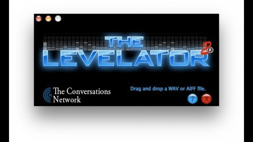 Levelator for Mac - review, screenshots