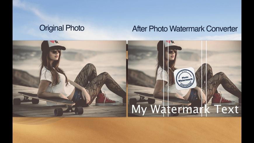 Photo Watermark Converter for Mac - review, screenshots