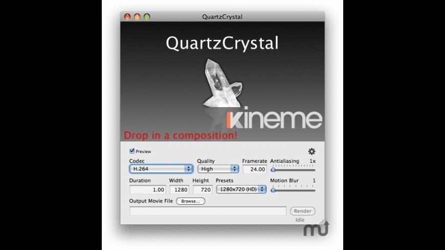 QuartzCrystal for Mac - review, screenshots