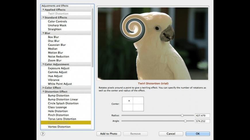 Growly Photo for Mac - review, screenshots