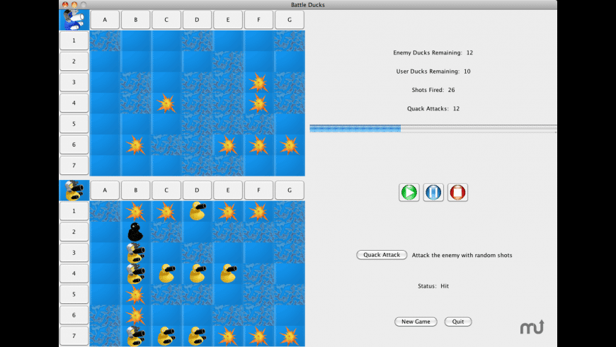 Battle Ducks for Mac - review, screenshots