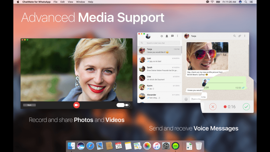 ChatMate for WhatsApp for Mac - review, screenshots
