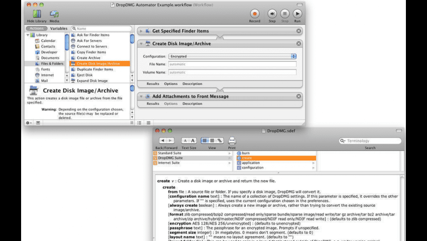 DropDMG for Mac - review, screenshots