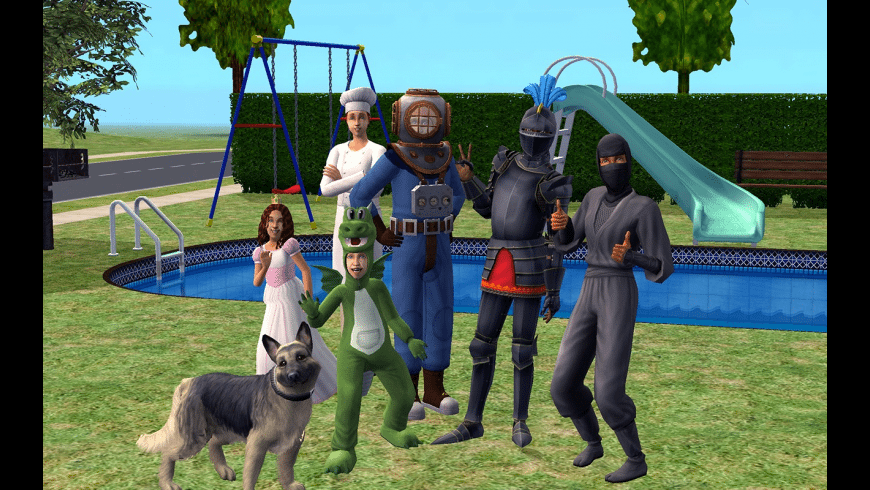 The Sims 2: Super Collection for Mac - review, screenshots
