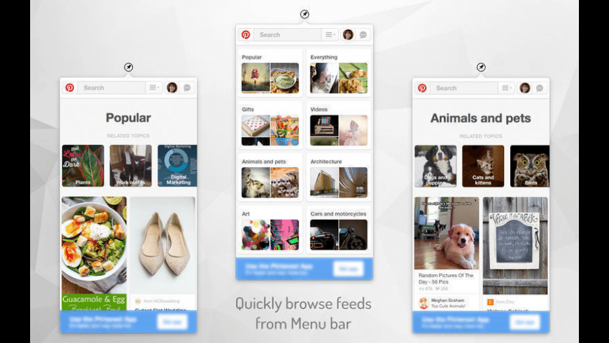Pinboard for Pinterest for Mac - review, screenshots