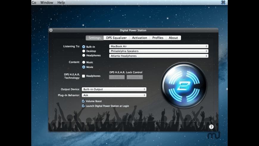 Bongiovi DPS for Mac - review, screenshots