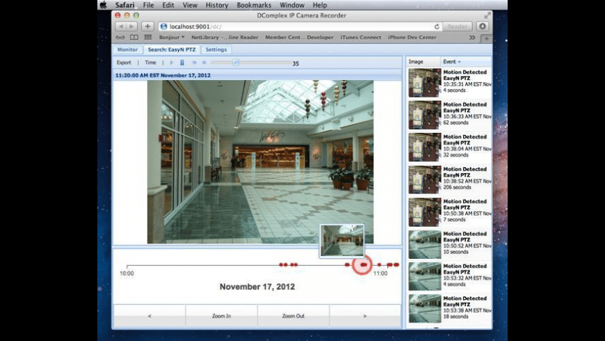 IP Camera Viewer for Mac - review, screenshots