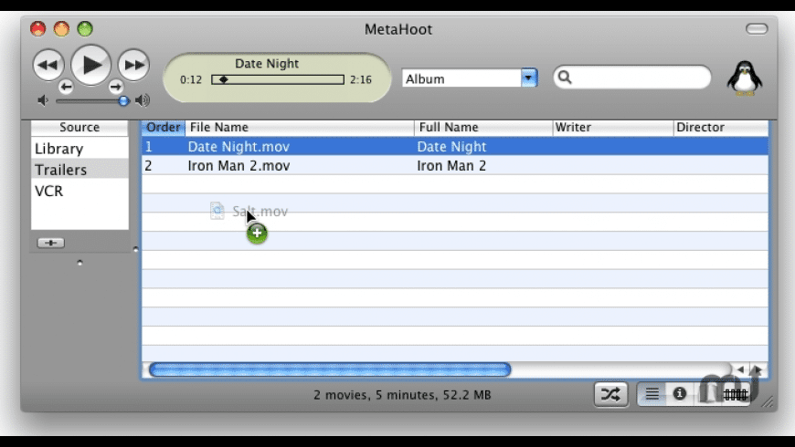 Metadata Hootenanny for Mac - review, screenshots