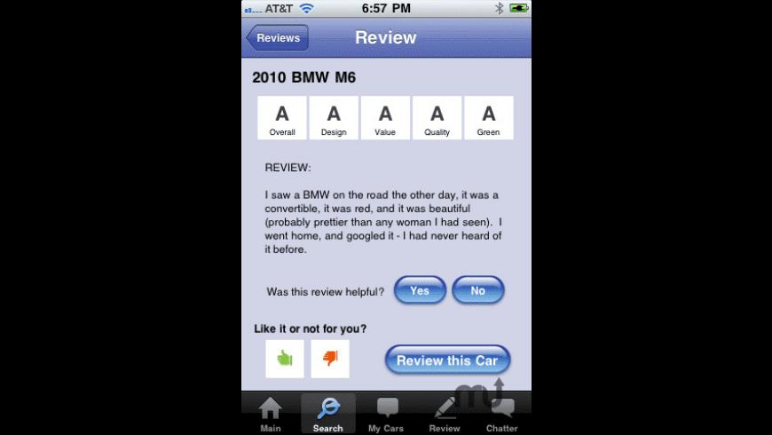 Honk Car Shopper for Mac - review, screenshots