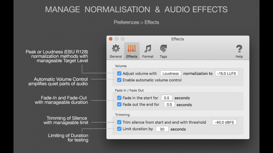 MP3 Normalizer for Mac - review, screenshots