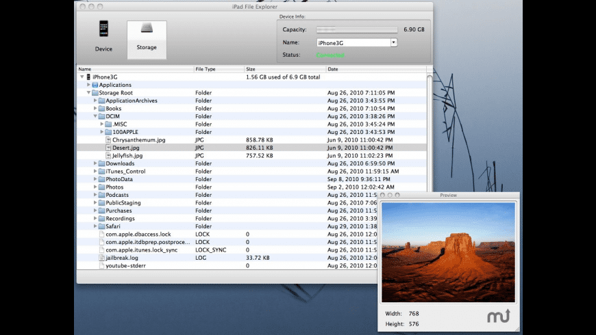 iPad File Explorer for Mac - review, screenshots